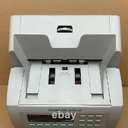 Cummins JetScan Currency Counter 4068 Reads New $100 bills -Clean Works Great