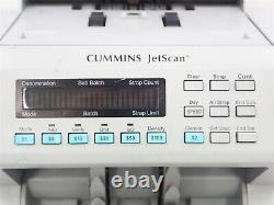 Cummins JetScan Currency Counter Model 4062 Mixed Bills/Notes Model 406-9902-00