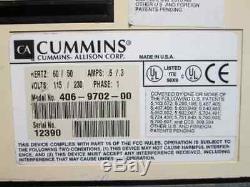 Cummins JetScan Model 4062 Single Pocket Currency Counter 406-9702-00