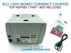 Cummins JetScan Model 4068 Commercial Bill Cash Money Currency Counter
