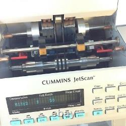 Cummins JetScan One-Pocket Currency Cash Bill Counter Model 4063