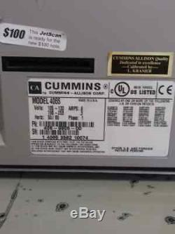 Cummins Jetscan 4065 Currency Counter