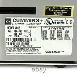 Cummins Jetscan 4065 Paper Currency Money Banknote Bill Counter 406-9905-00