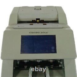 Cummins Jetscan 4099 Dual Pocket Currency Bill Scanner/Counter 409-9909-00