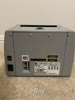 Cummins Jetscan Currency Counter Model 4062
