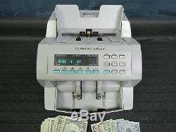 Cummins Jetscan Currency Counter Model 4068 Counts Mixed Bills / Notes