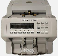 Cummins Jetscan Currency Money Counter Model 4062 Fully ReconditionedWARRANTY