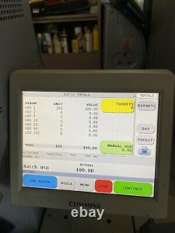 Cummins Jetscan iFX400 System Currency Counter/ Sorter With System i400 Software