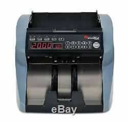 Currency Cash Bill Counter UV MG Cassida Money Counting Machine Value Count LED
