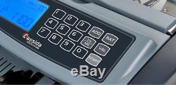 Currency Counter Money Counting Machine Counterfeit Bill Detector Fraud Alert