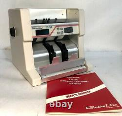 Currency Counter Technitrol Model TC 90 Currency Document Counter 220V