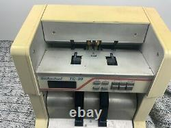Currency Counter Technitrol Model TC 90 Currency Document Counter 220V- AS IS