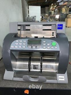 Delarue Talaris EV8626 Money Bill Currency Counter Sorter