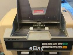 GLORY GFR-100 Mixed US Currency Counter/Discriminator Reads Bills $1-$100