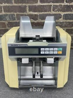 Glory GFR-100 Mixed US Currency Counter/Discriminator