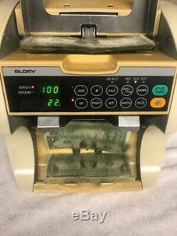 Glory GFR-S80 Currency Counter Money/Cash Sorter Discriminator