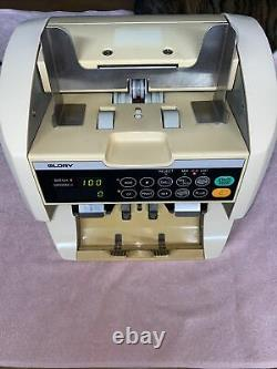 Glory GFR-S80V Currency / bill / Money Counter, Sorter, Counterfeit Detection