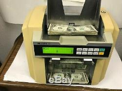 Glory Model GFR-110 Currency Bill Money Counter READS NEW $100 bills