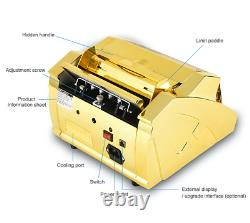 Gold Money Counter Brand New Multi-Currency