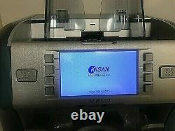 KISAN Newton-V Currency Banknote Sorter