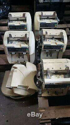 LOT OF 5 Glory GFR-S60, S80 Currency Bill Note Counter Sorter