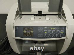 Laurel J-717 Bill Counter Currency Money Bank Machine