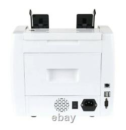 Mixed Bill Money Counter Multi Currency Counterfeit Detector Denomination Detect