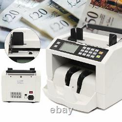 Money Bill Cash Counter Bank Machine Currency Counting Detection Magnetic