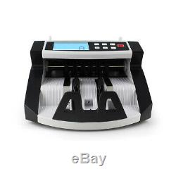 Money Bill Cash Counter Bank Machine Currency Counting Uv & Mg Counterfeit F8H3