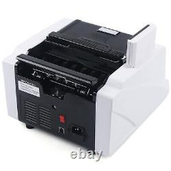 Money Bill Cash Counter Counting Machine Multi-Currency Counterfeit Detection US