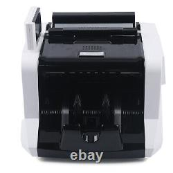 Money Bill Counter Bank Machine Currency Counting UV MG Counterfeit Detector New