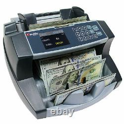 Money Bill Counter Counting Machine Currency high Speed Dollar Value Counter