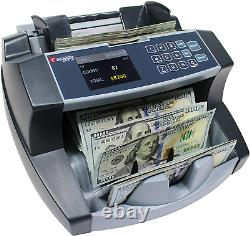 Money Bill Counter Counting Machine Currency high Speed Dollar Value Counter NEW