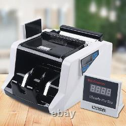 Money Bill Counter Multi-Currency Automatic Counting Machine Counterfeit Check