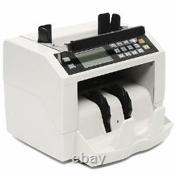 Money Bill Currency Counter Counting Machine Counterfeit Detector Magnetic Cash