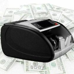 Money Bill Currency Counter Counting Machine Counterfeit Detector UV MG Cash W`