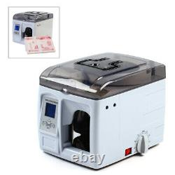 Money Bundle Machine Automatic Banding Machine Currency Strapping 110V Fusion US