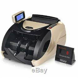 Money Cash Currency Automatic UV Bill Counter EP23804 WC