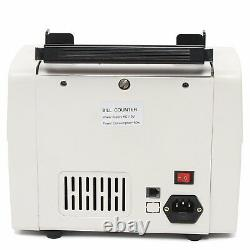 Money Counter Bill Cash Currency Counting Machine Magnetic Counterfeit Detector