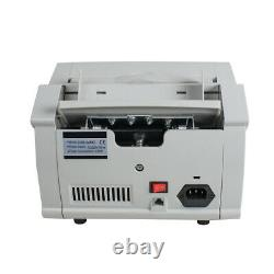 Money Counter Currency Cash Bill Counting Machine UV MG Counterfeit Detection CE