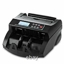Money Counter DOMENS UV/MG Detection Bill Counting Machine US Dollar Currency