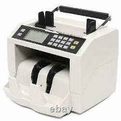 Money Counter Machine Currency Cash Bank Sorter Detection Bill Count 100PCS