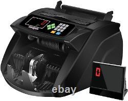 Money Counter Machine With Uv/Mg/Ir/Mt, Kaegue Bill Currency Counter Machine, Ca