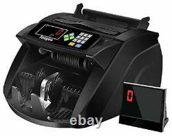 Money Counter Machine with UV/MG/IR/MT Kaegue Bill Currency Counter Machine C