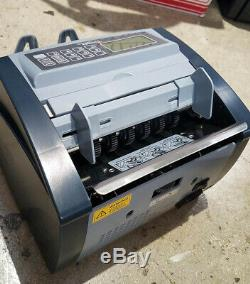 Money Counter Pro UV Currency Cash Counting Machine Sorter Cassida 5520