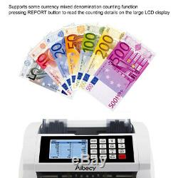 Money Counting Machine MG UV IR Magnetic Detection Multinational Currency S2N4
