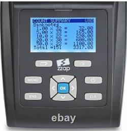 Money Scales Coin Counter Checker Bank Note Cash Currency Counter Machine