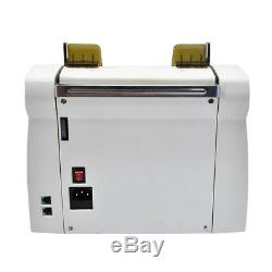 Multi-Currency Automatic Cash Banknote Money Bill Counter Counting Machine UV MG