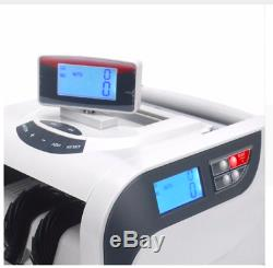Multi Currency Shop Business Cash Counter Machine Money Fraud Note Bill Detector