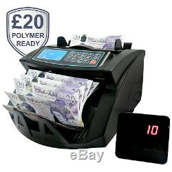 NC20IX Automatic Money Counter Note Bill Currency Cash Sorting Machine Polymer